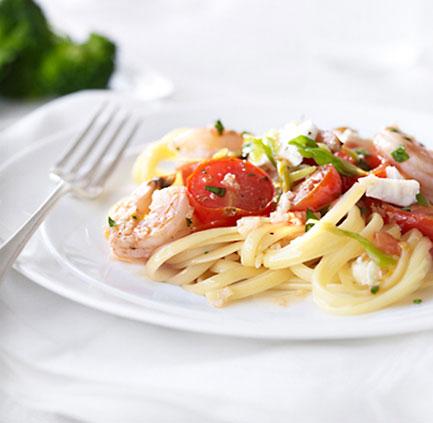 skillet-shrimp-tomatoes-feta